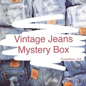 VINTAGE Jeans High Rise 5lbs Mystery Box